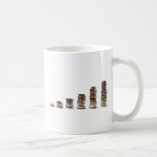 Coins growth coffee mug