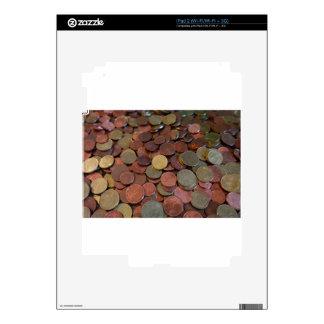 coins iPad 2 skin