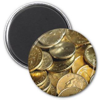 Coins MF 2 Inch Round Magnet