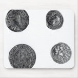 Coins of Cunobelinus or Cymbeline Mouse Pads