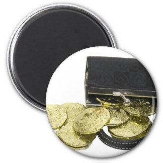 CoinsPurse061509 2 Inch Round Magnet