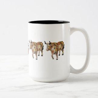 """""""Cointreau On The Ox"""" 15 oz mug"""