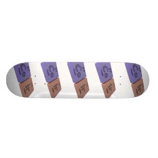 Coir as Co Cobalt  and Ir Iridium Skateboard Deck
