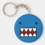 Coiso Azur Basic Round Button Keychain
