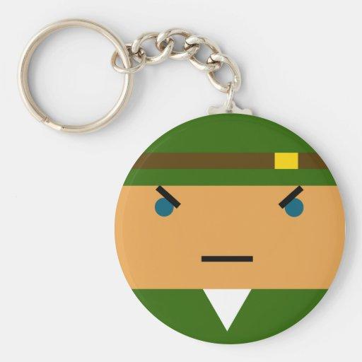 Coiso Basic Round Button Keychain