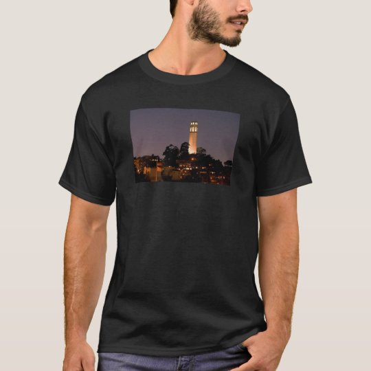 Coit Tower at Night T-Shirt