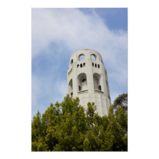 Coit Tower in San Francisco Poster