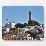 Coit Tower On Telegraph Hill In San Francisco Take Mousepads