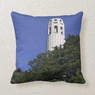 Coit Tower on Telegraph Hill Throw Pillow