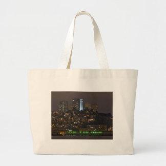 Coit  Tower San Francisco Canvas Bags