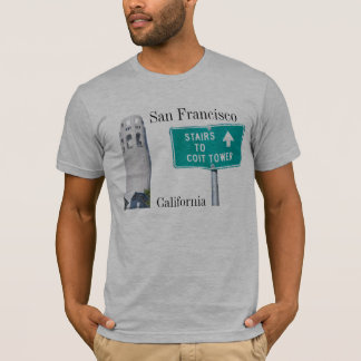 Coit Tower, San Francisco, California T-Shirt