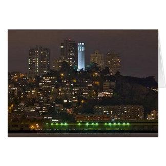 Coit  Tower San Francisco Greeting Card