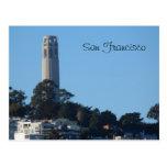 Coit Tower- San Francisco Postcard