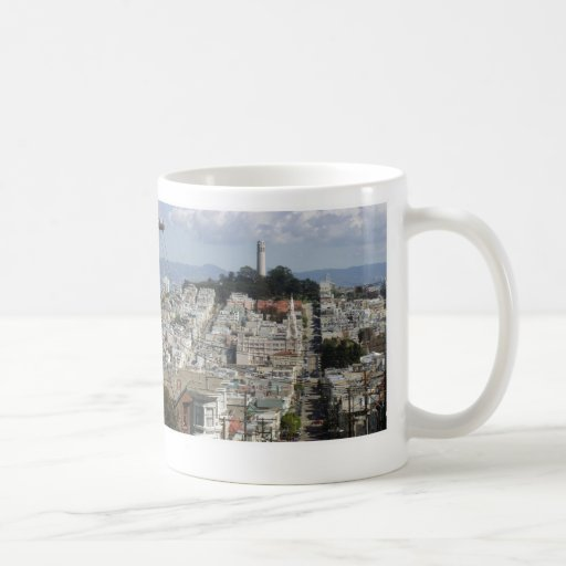 Coit Tower Scenic Picture Classic White Coffee Mug