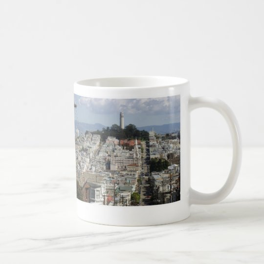 Coit Tower Scenic Picture Coffee Mug