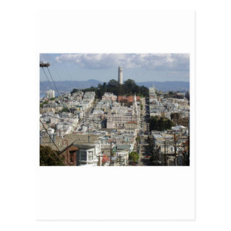 Coit Tower Scenic Picture Postcard