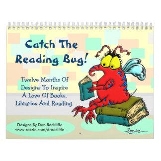 ¡Coja el insecto de la lectura! Calendario