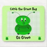 Coja el insecto verde - va el verde alfombrilla de ratones