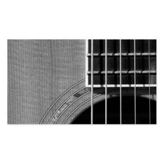 Coja el ritmo - Grayscale 2 Tarjetas De Visita
