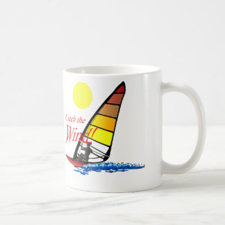 Coja el viento taza de café