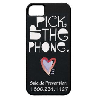 Coja la caja del teléfono celular del teléfono iPhone 5 Case-Mate protectores