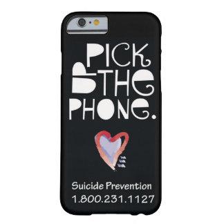 Coja la caja del teléfono celular del teléfono funda de iPhone 6 barely there