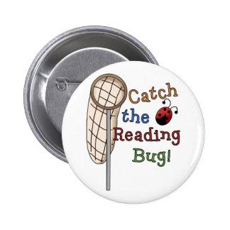 Coja las camisetas y los regalos del insecto de la pin redondo 5 cm