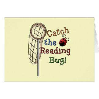 Coja las camisetas y los regalos del insecto de la tarjeta de felicitación