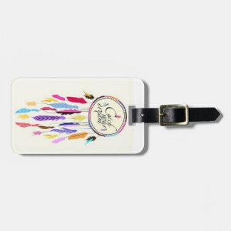 Coja su etiqueta del equipaje de Dreamcatcher de l Etiquetas Maleta