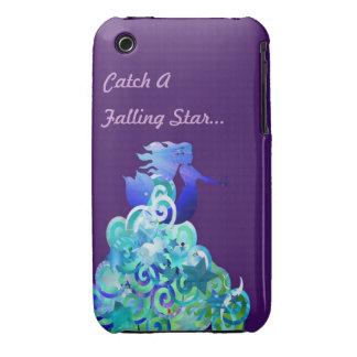 Coja una estrella el caer iPhone 3 Case-Mate carcasas