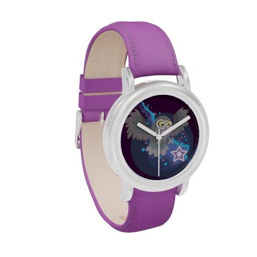 Coja una estrella Owl~wristwatch Reloj