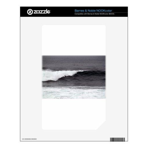 Coja una onda calcomanías para el NOOK color