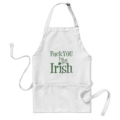 Cójale que no soy irlandés delantal