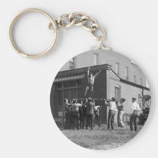 Cójame si usted puede: 1920 llavero redondo tipo pin