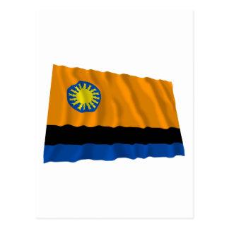 Cojedes Waving Flag Postcard