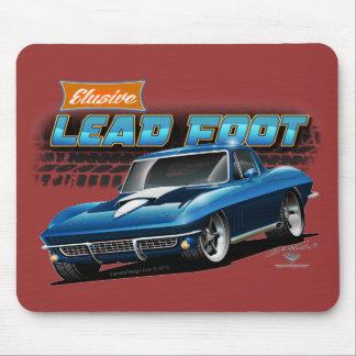 Cojín 1967 de ratón de la pastinaca del Corvette Mousepads
