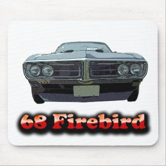 Cojín 1968 de ratón de Firebird Alfombrilla De Ratón