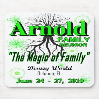 """Cojín 2010 de ratón de la reunión de Arnold - """"mag Tapete De Raton"""
