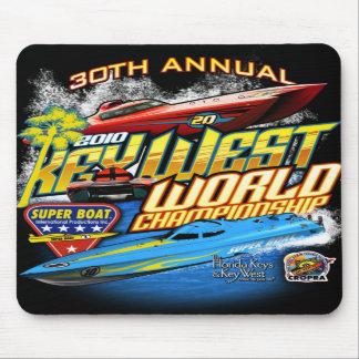 Cojín 2010 de ratón del campeón de Key West Wld Mouse Pad