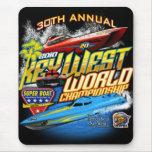 Cojín 2010 de ratón del campeón de Key West Wld Alfombrillas De Ratones