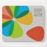 Cojín 2014 de ratón de NYGF Tapetes De Raton