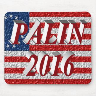 Cojín 2016, 3D rojo de ratón de PALIN, Betsy Ross Alfombrillas De Raton