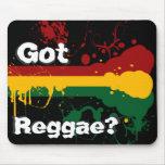 Cojín conseguido del reggae tapetes de ratones