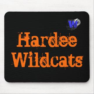 Cojín de HardeeWildcatsMouse Tapetes De Raton