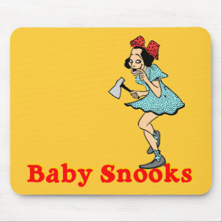 Cojín de ratón adaptable de los Snooks del bebé Alfombrillas De Raton