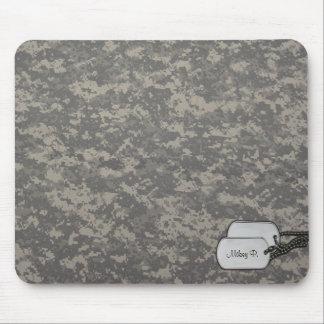 Cojín de ratón adaptable del camuflaje mouse pads