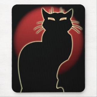 Cojín de ratón adaptable del gato de Mousepads del
