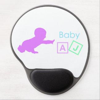 Cojín de ratón AJ del bebé Alfombrilla De Ratón Con Gel