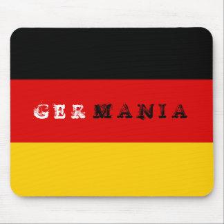 Cojín de ratón alemán de la bandera alfombrilla de ratones
