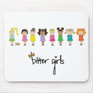 Cojín de ratón amargo de los chicas tapete de ratones